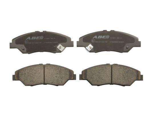Plaquettes de frein avant ABE C10305ABE (X1)