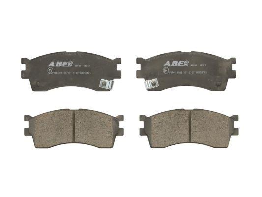 Plaquettes de frein avant ABE C10319ABE (X1)