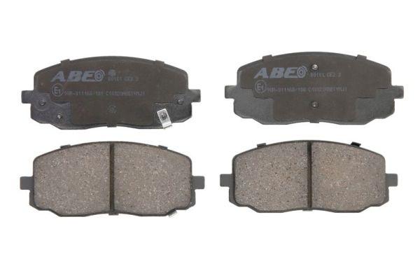 Plaquettes de frein ABE C10320ABE (X1)