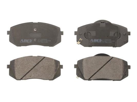 Plaquettes de frein avant ABE C10326ABE (X1)