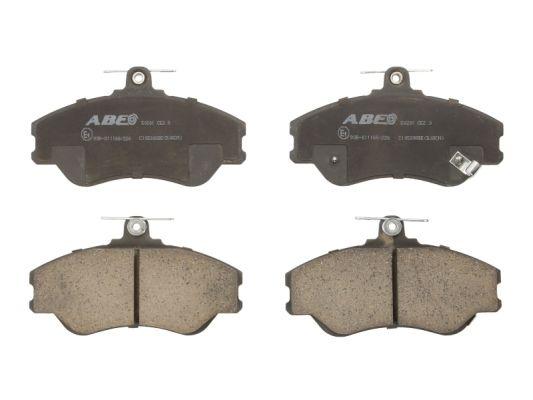 Plaquettes de frein avant ABE C10500ABE (X1)