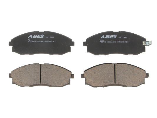 Plaquettes de frein avant ABE C10506ABE (X1)