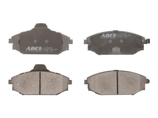 Plaquettes de frein avant ABE C10507ABE (X1)
