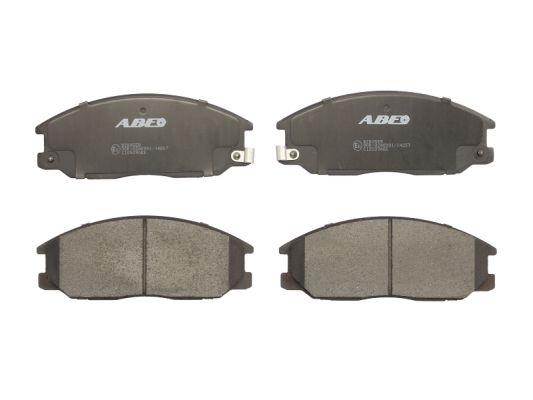 Plaquettes de frein avant ABE C10509ABE (X1)
