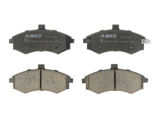 Plaquettes de frein avant ABE C10515ABE (X1)