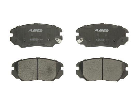 Kit de plaquettes de frein, frein à disque ABE C10517ABE (X1)