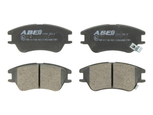 Plaquettes de frein avant ABE C10520ABE (X1)