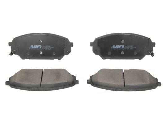 Plaquettes de frein avant ABE C10526ABE (X1)