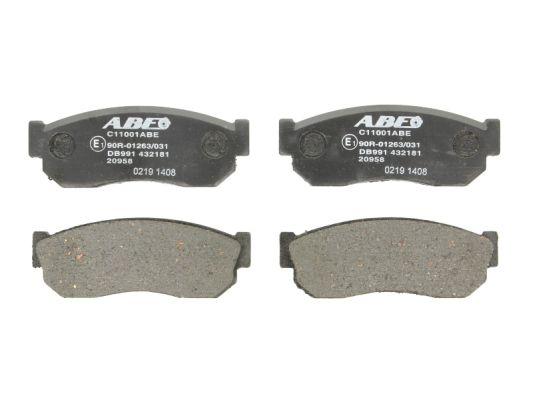Plaquettes de frein avant ABE C11001ABE (X1)