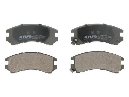 Plaquettes de frein avant ABE C11035ABE (X1)