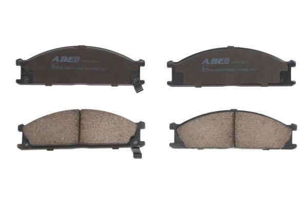 Plaquettes de frein avant ABE C11039ABE (X1)
