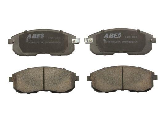 Plaquettes de frein ABE C11044ABE (X1)