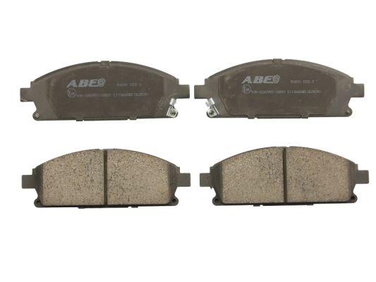 Plaquettes de frein avant ABE C11066ABE (X1)