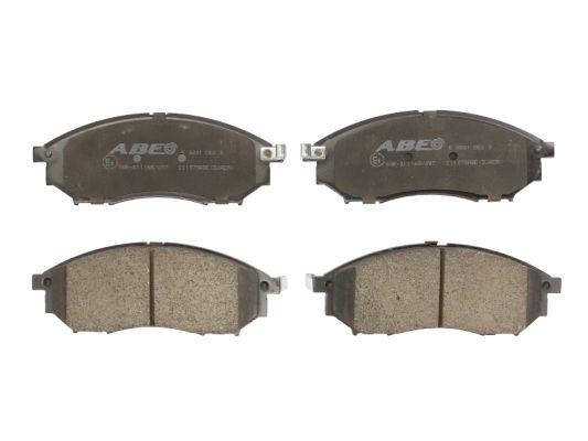Plaquettes de frein avant ABE C11078ABE (X1)