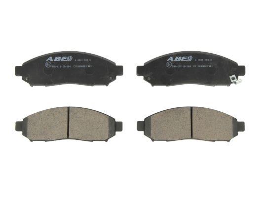 Plaquettes de frein avant ABE C11089ABE (X1)