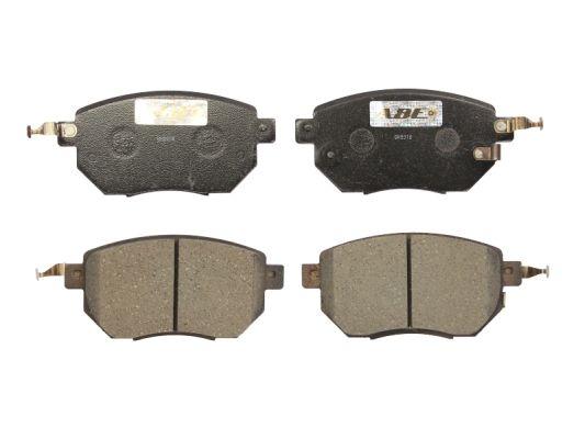 Plaquettes de frein avant ABE C11093ABE (X1)