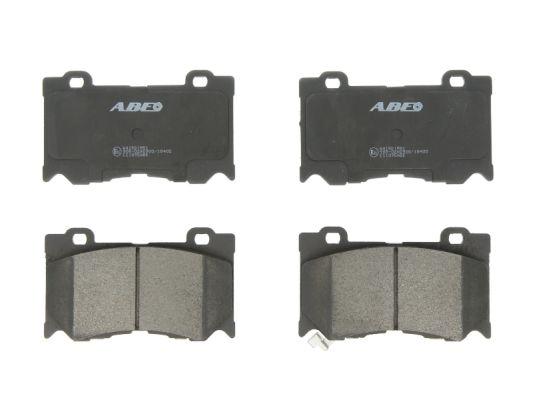 Plaquettes de frein avant ABE C11095ABE (X1)