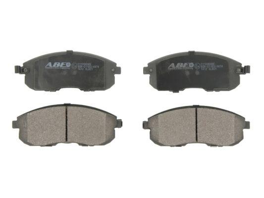 Kit de plaquettes de frein, frein à disque ABE C11096ABE (X1)