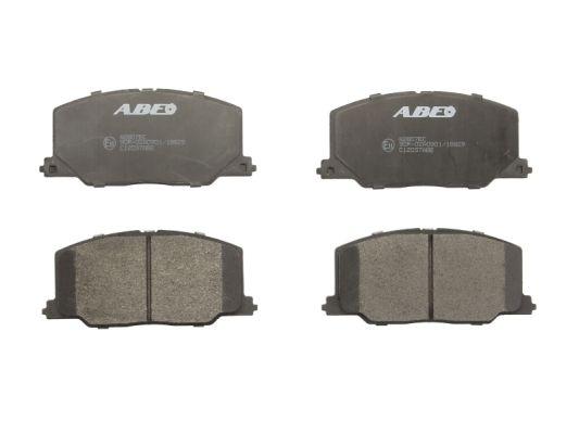 Plaquettes de frein avant ABE C12037ABE (X1)