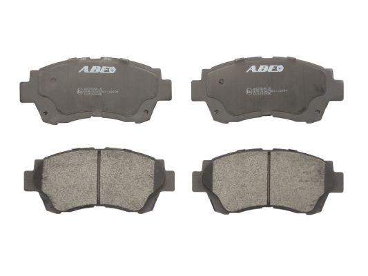 Plaquettes de frein avant ABE C12060ABE (X1)