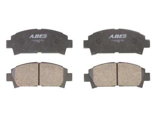 Plaquettes de frein avant ABE C12063ABE (X1)