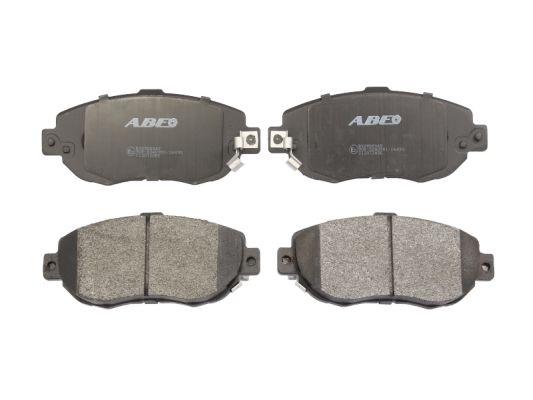 Plaquettes de frein avant ABE C12072ABE (X1)