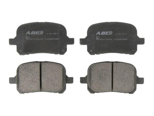 Plaquettes de frein avant ABE C12083ABE (X1)