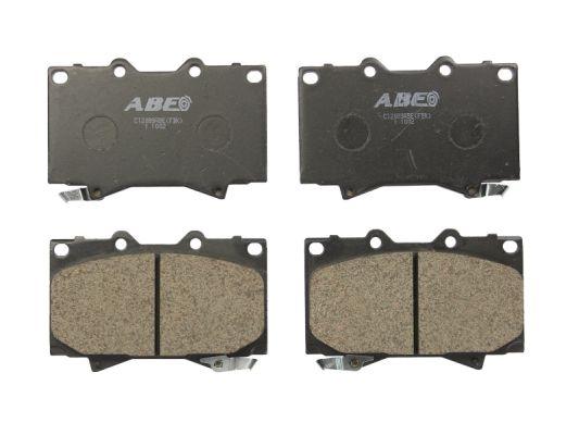Plaquettes de frein avant ABE C12088ABE (X1)