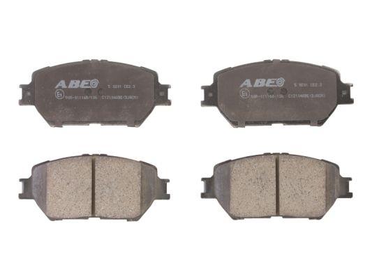 Plaquettes de frein avant ABE C12104ABE (X1)