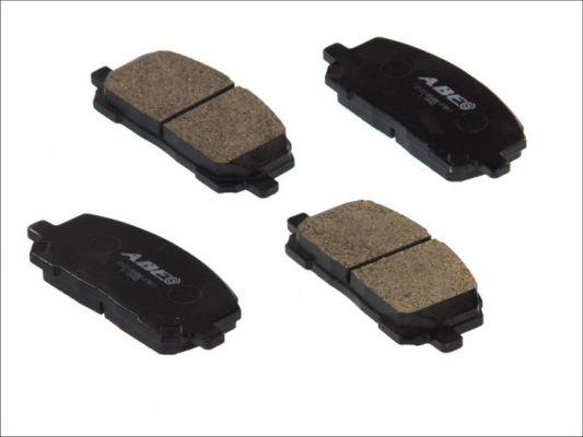 Plaquettes de frein avant ABE C12105ABE (X1)