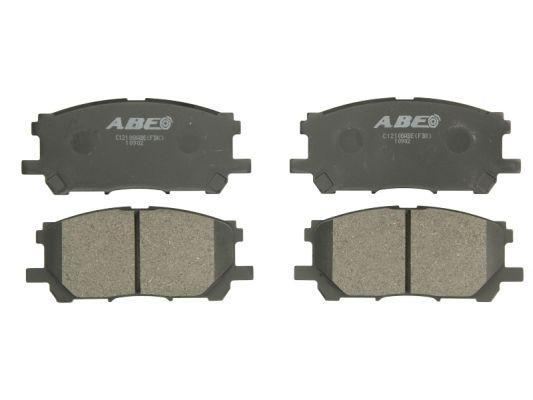 Plaquettes de frein avant ABE C12108ABE (X1)