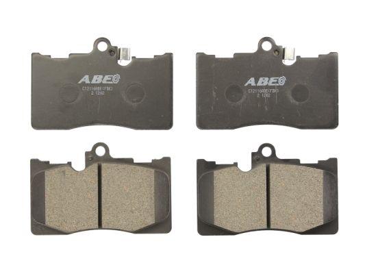 Plaquettes de frein avant ABE C12116ABE (X1)