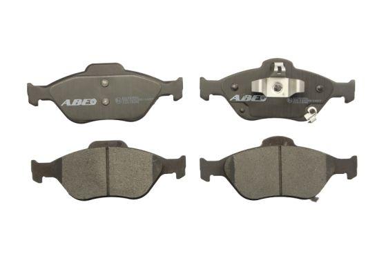 Plaquettes de frein avant ABE C12118ABE (X1)