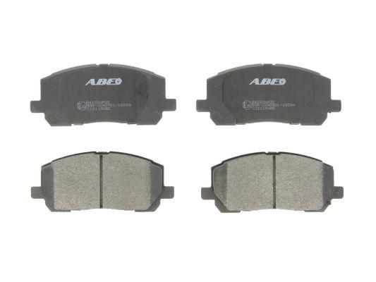 Plaquettes de frein avant ABE C12119ABE (X1)