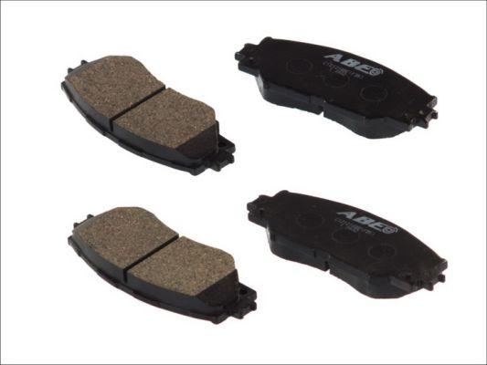Plaquettes de frein avant ABE C12121ABE (X1)