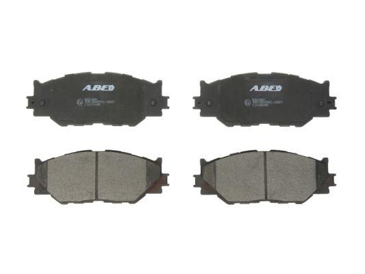 Plaquettes de frein avant ABE C12126ABE (X1)