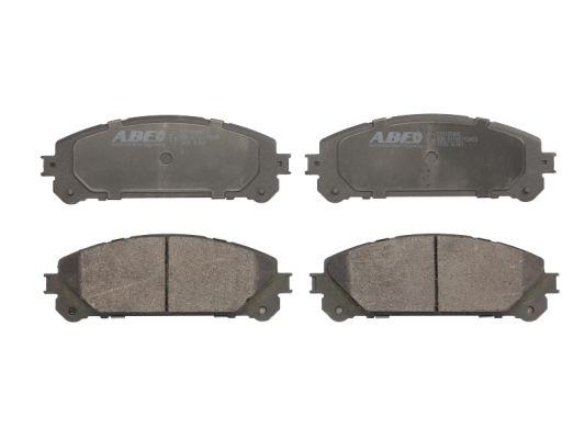 Plaquettes de frein avant ABE C12135ABE (X1)