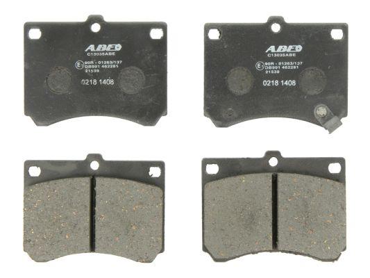 Kit de plaquettes de frein, frein à disque ABE C13035ABE (X1)