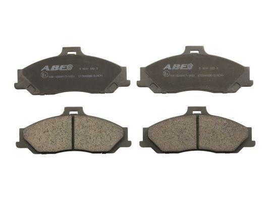 Plaquettes de frein avant ABE C13048ABE (X1)