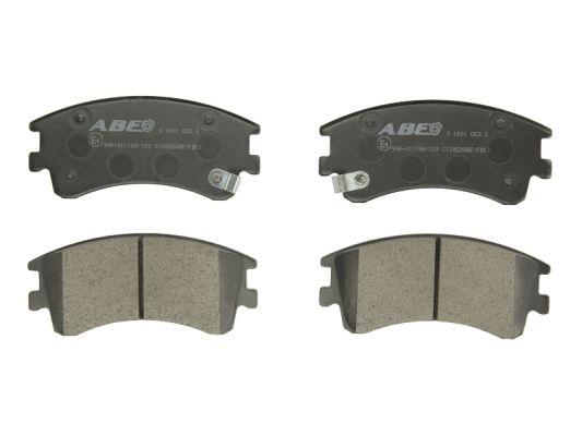 Plaquettes de frein avant ABE C13052ABE (X1)