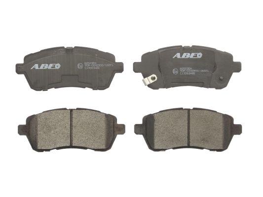 Plaquettes de frein avant ABE C13063ABE (X1)