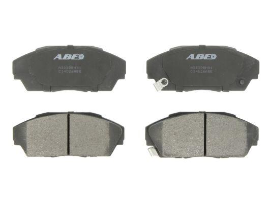 Plaquettes de frein avant ABE C14026ABE (X1)