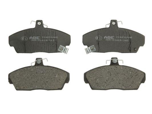 Plaquettes de frein avant ABE C14031ABE (X1)