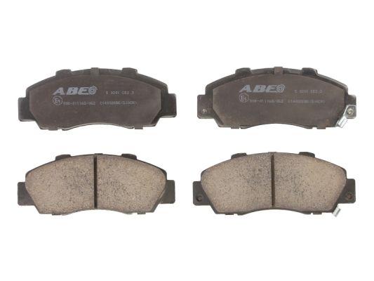 Plaquettes de frein avant ABE C14032ABE (X1)