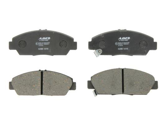 Plaquettes de frein avant ABE C14037ABE (X1)