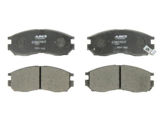 Plaquettes de frein avant ABE C15030ABE (X1)
