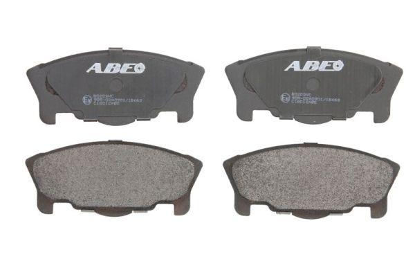 Plaquettes de frein avant ABE C16012ABE (X1)