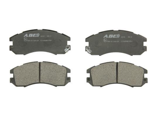 Plaquettes de frein avant ABE C17005ABE (X1)
