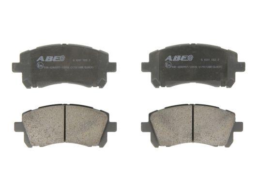 Plaquettes de frein avant ABE C17011ABE (X1)