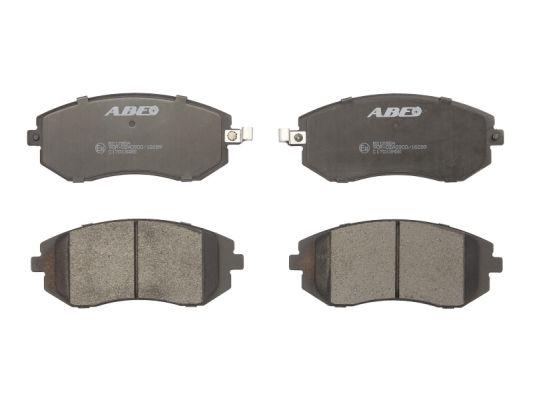 Plaquettes de frein avant ABE C17013ABE (X1)